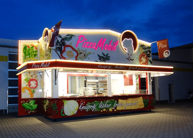 PizzaMobil für Kirmes und Festivals